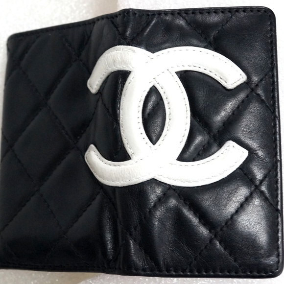 CHANEL Handbags - Auth CHANEL Cambon Ligne Quilted Wallet Key Case